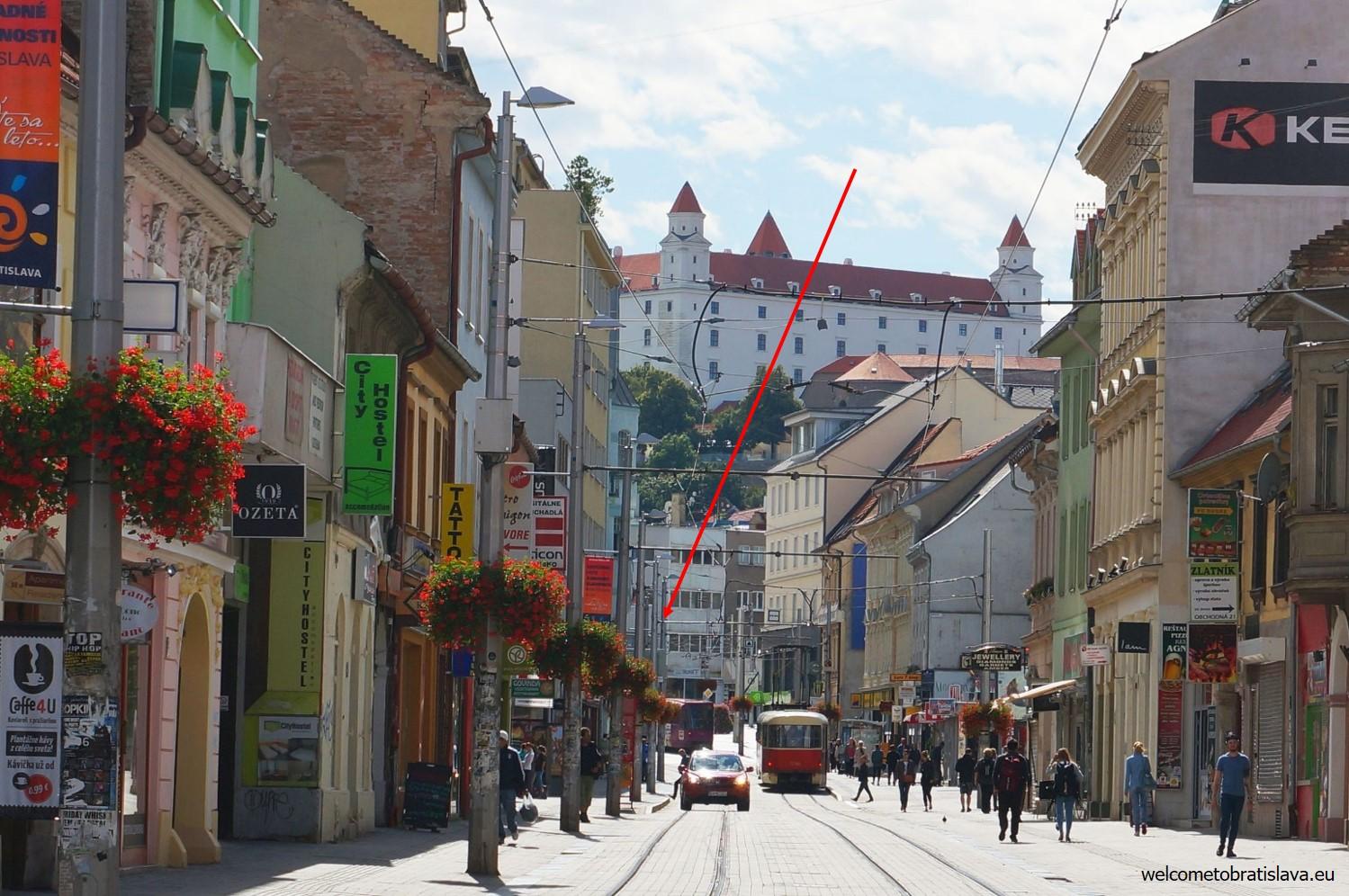 Obchodna street