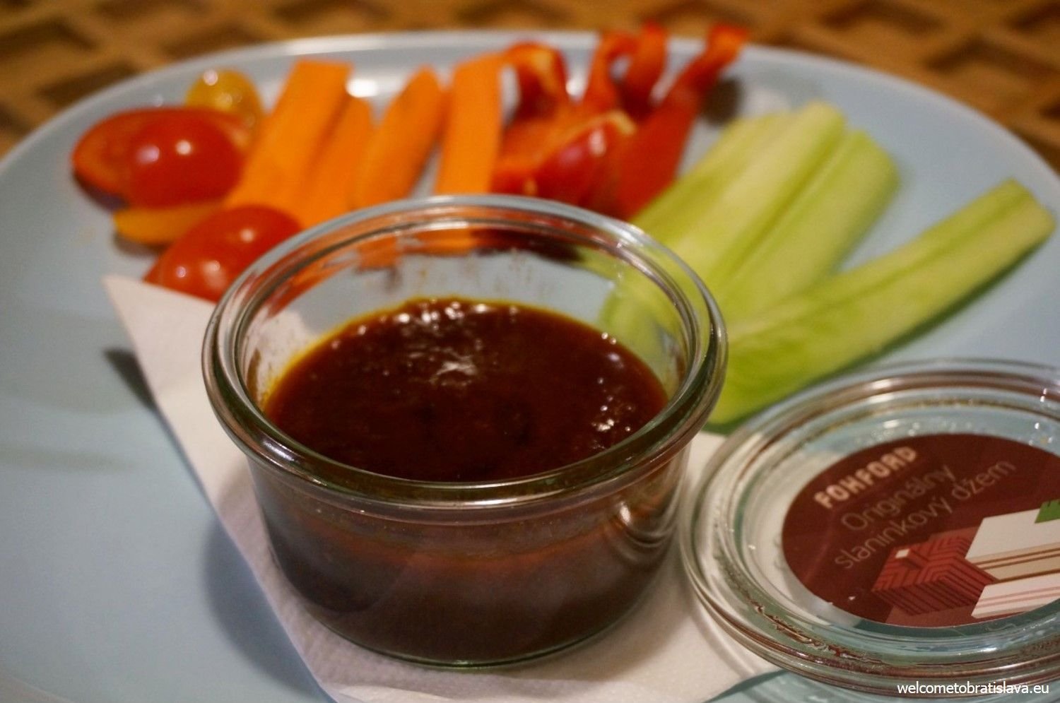 One of the most delicious spreads or jams is their bacon jam which can be served with vegetables or bread.
