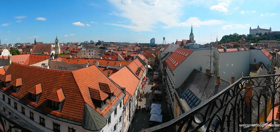 Best view in Bratislava - Michael's Tower