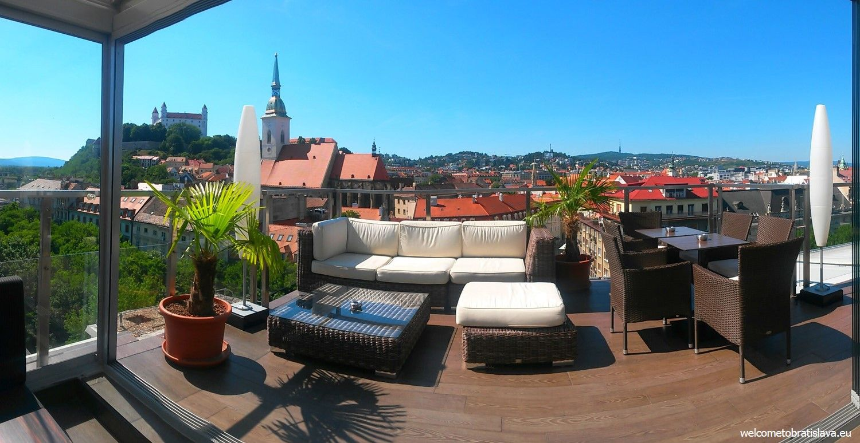 Best view in Bratislava - SKY BAR
