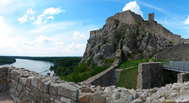 Best view in Bratislava - DEVIN CASTLE