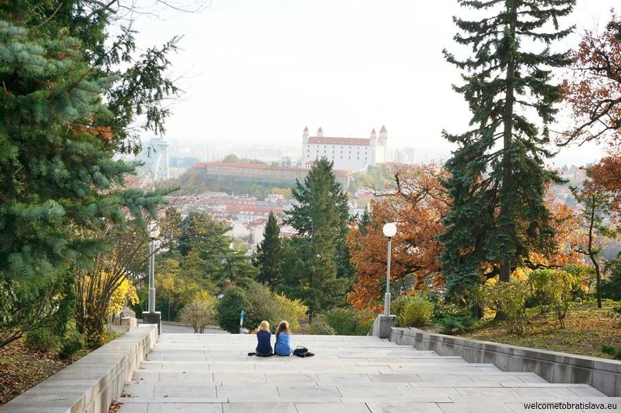 Best view in Bratislava - SLAVIN MEMORIAL