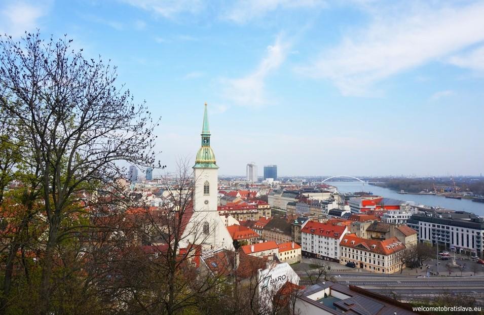Best view in Bratislava - Castle