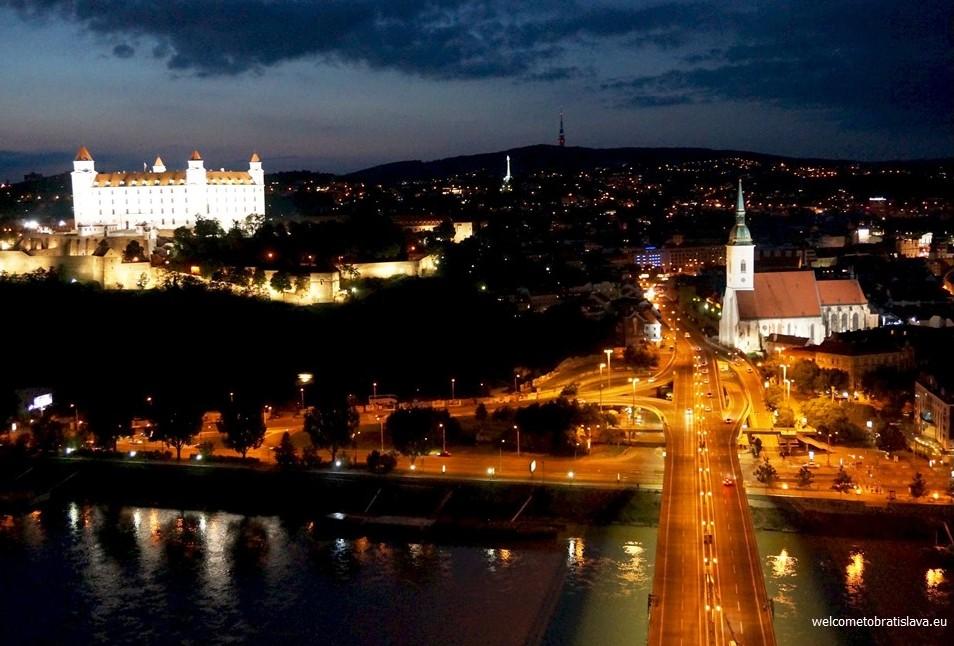 Best view in Bratislava - UFO observation deck