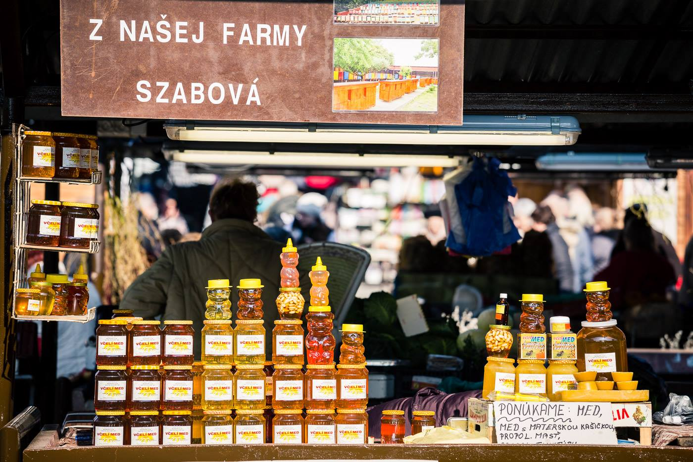 Market place on Mileticova street