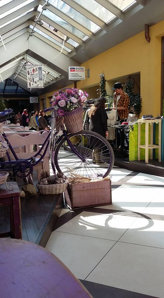 Flea market on Obchodna street