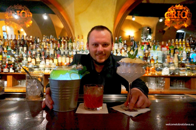 Best cocktail places Rio Filip Rebroš
