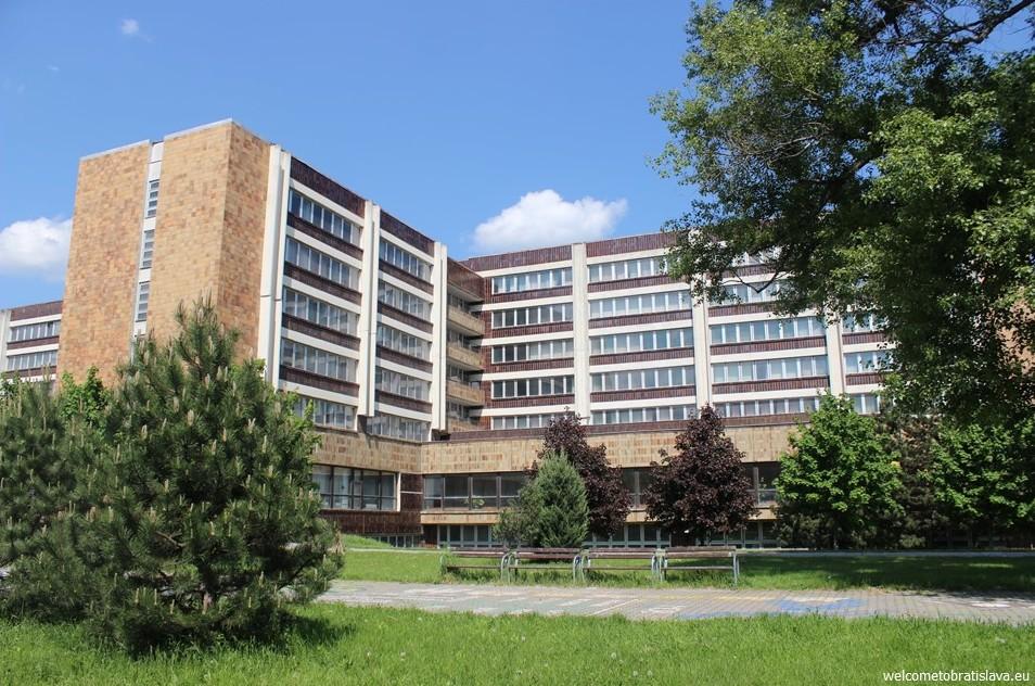 SOCIALIST ARCHITECTURE IN BRATISLAVA: University of Economics EUBA