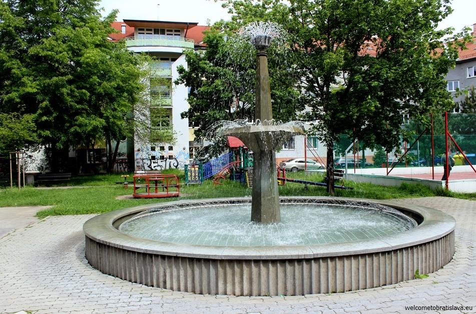 SOCIALIST ARCHITECTURE IN BRATISLAVA: Fountain for Zuzana