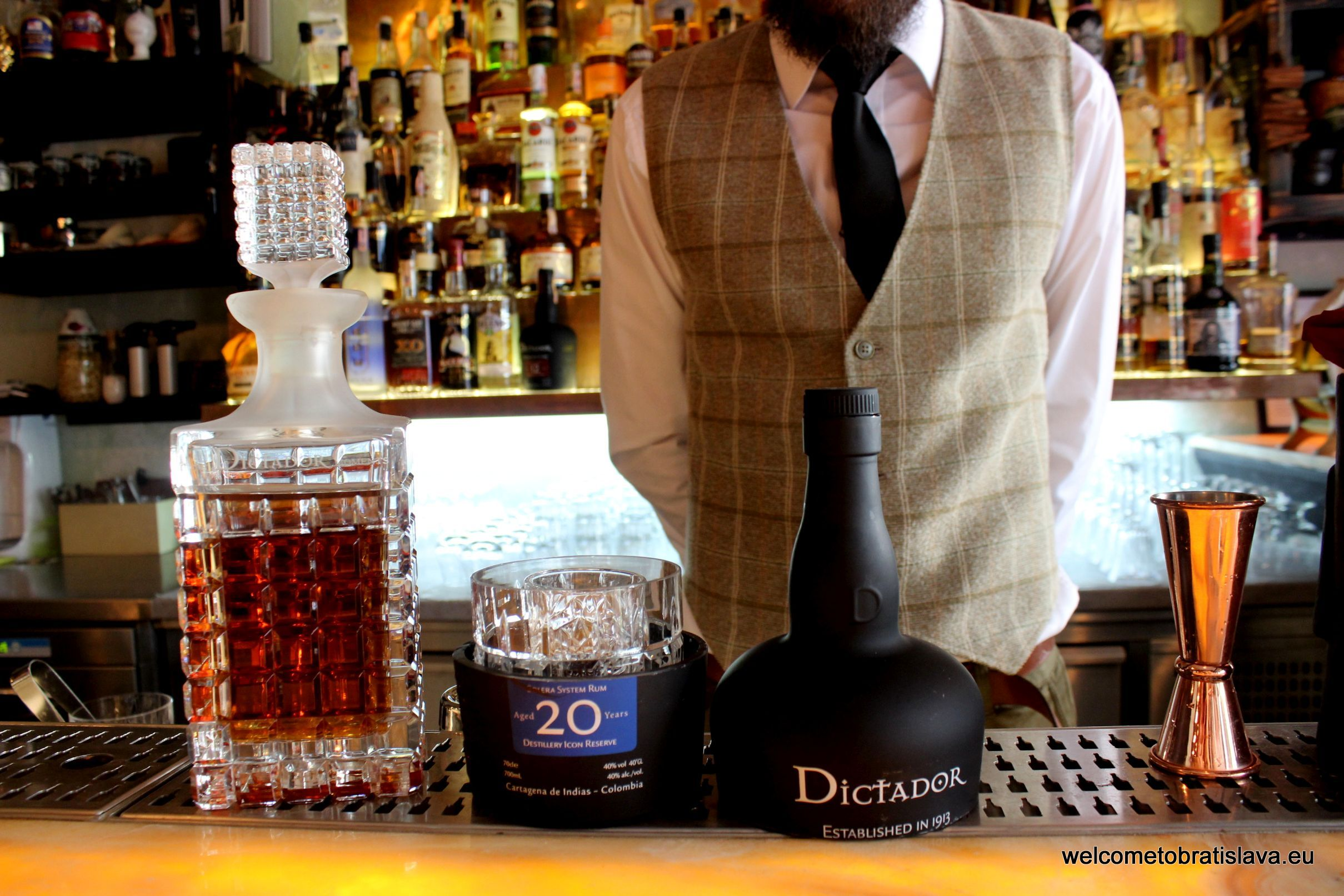 Best cocktail places Perfect Serve with Dictador 20YO