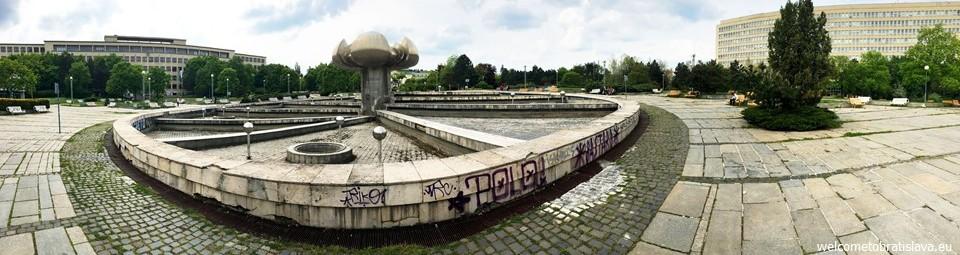 SOCIALIST ARCHITECTURE IN BRATISLAVA: Namestie Slobody (Freedom Square)