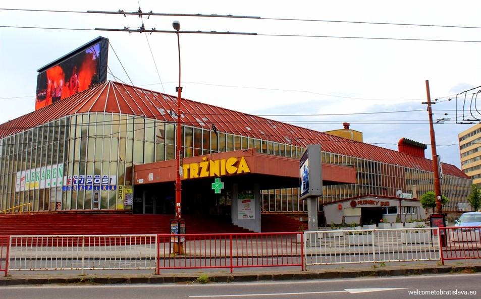 SOCIALIST ARCHITECTURE IN BRATISLAVA: New Market Hall Nova Trznica