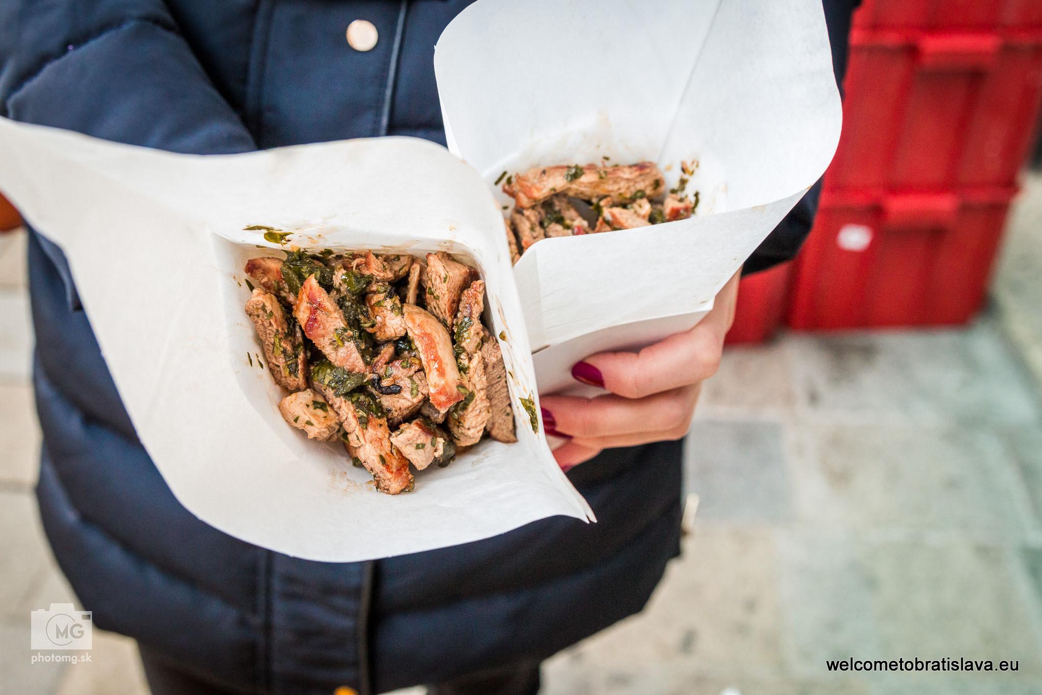 Orbis Street Food Meat in Cone