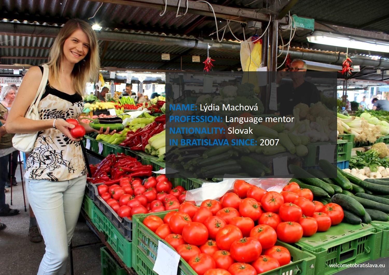 Humans of Bratislava: Lydia Machova
