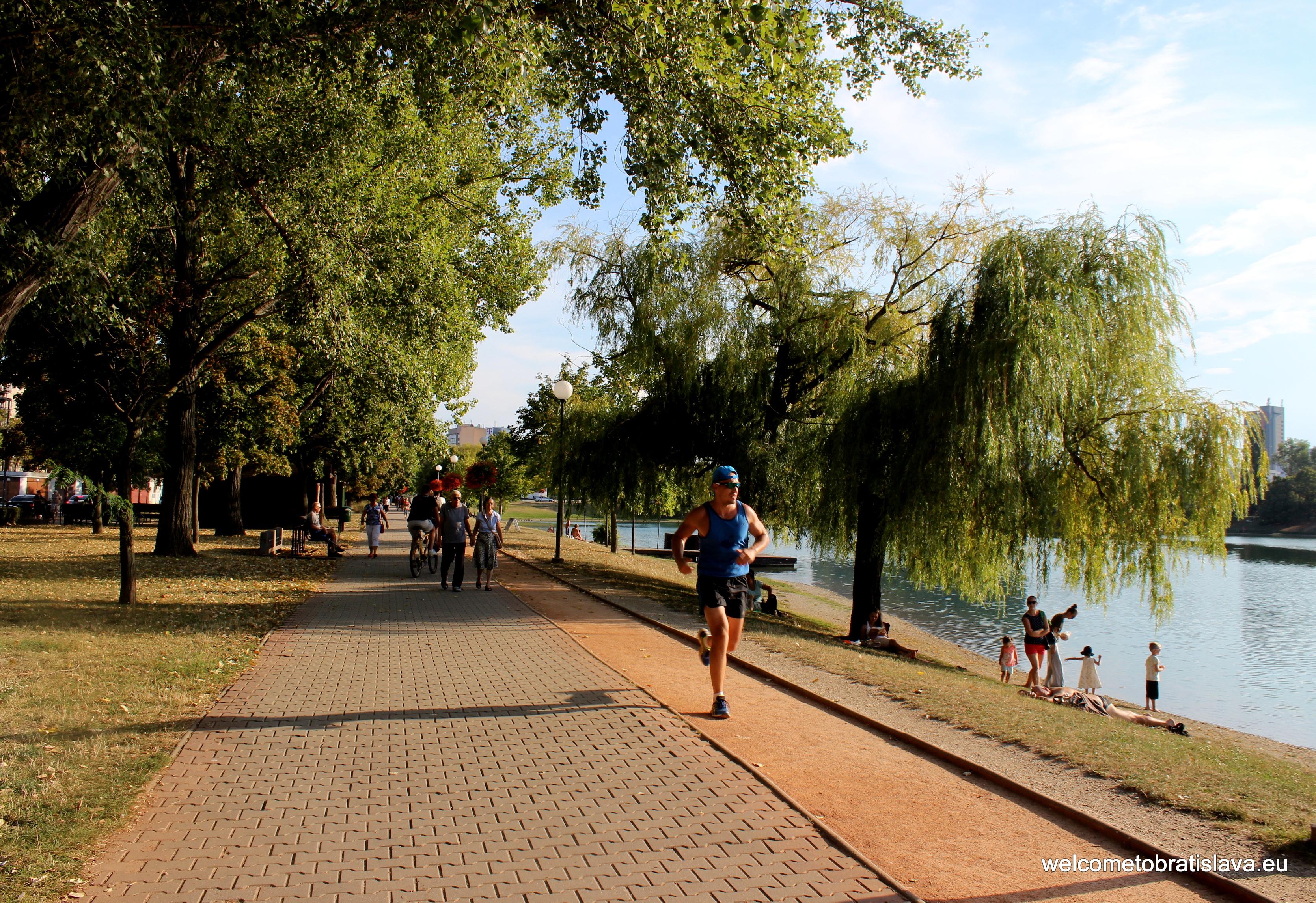 Strkovec lake