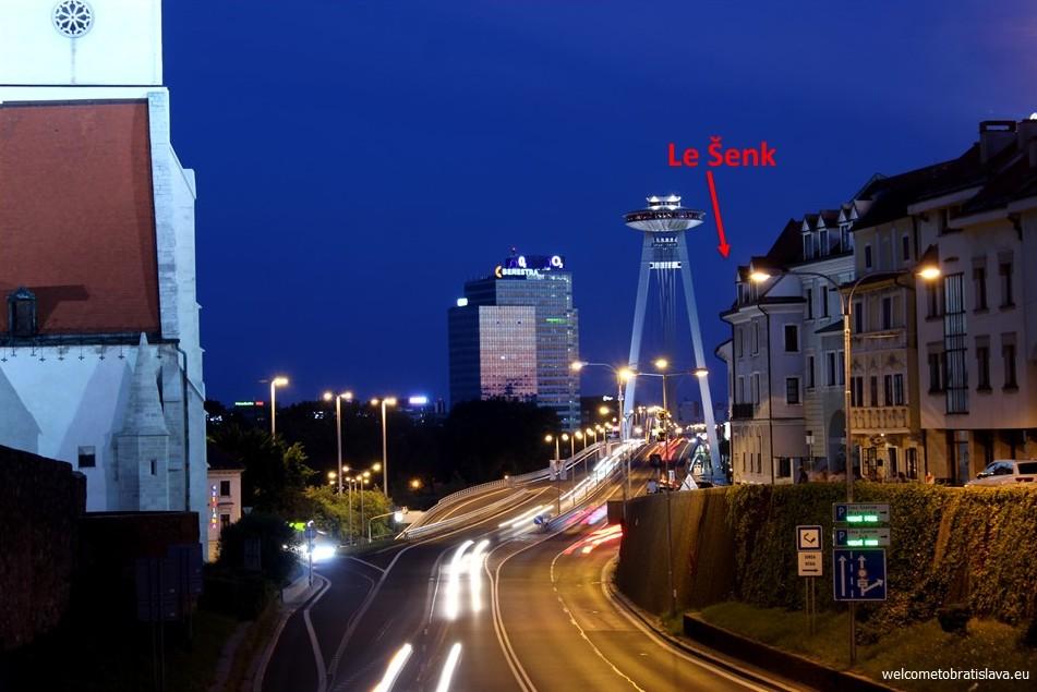 Le Senk location