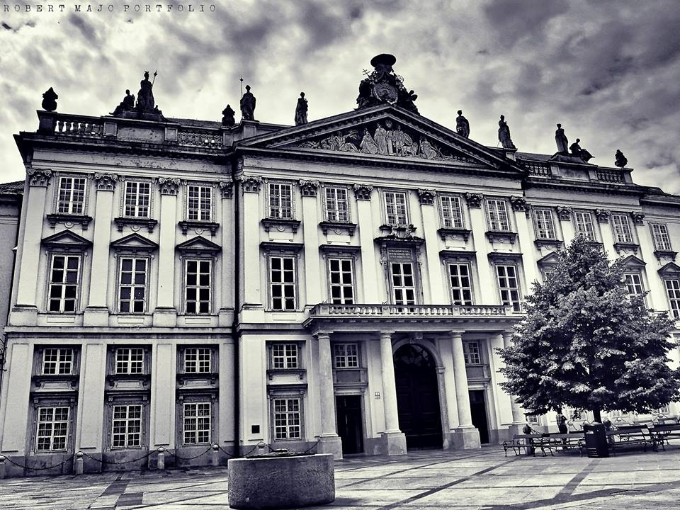 historical buildings Bratislava