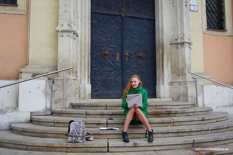 Humans of Bratislava: Kate Grishakova