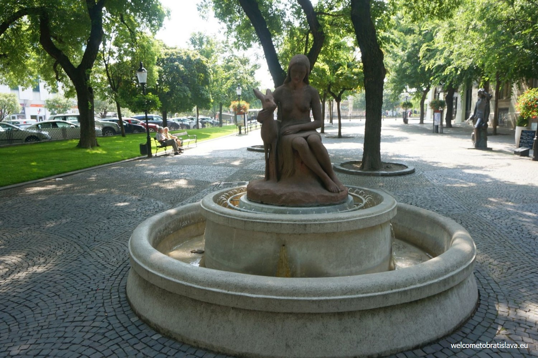 Bratislava fountains