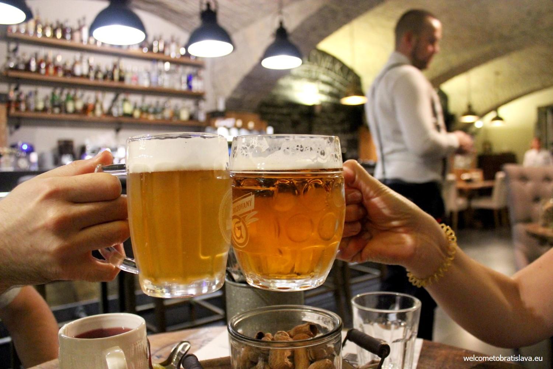 Best beer places in Bratislava - Fabrika
