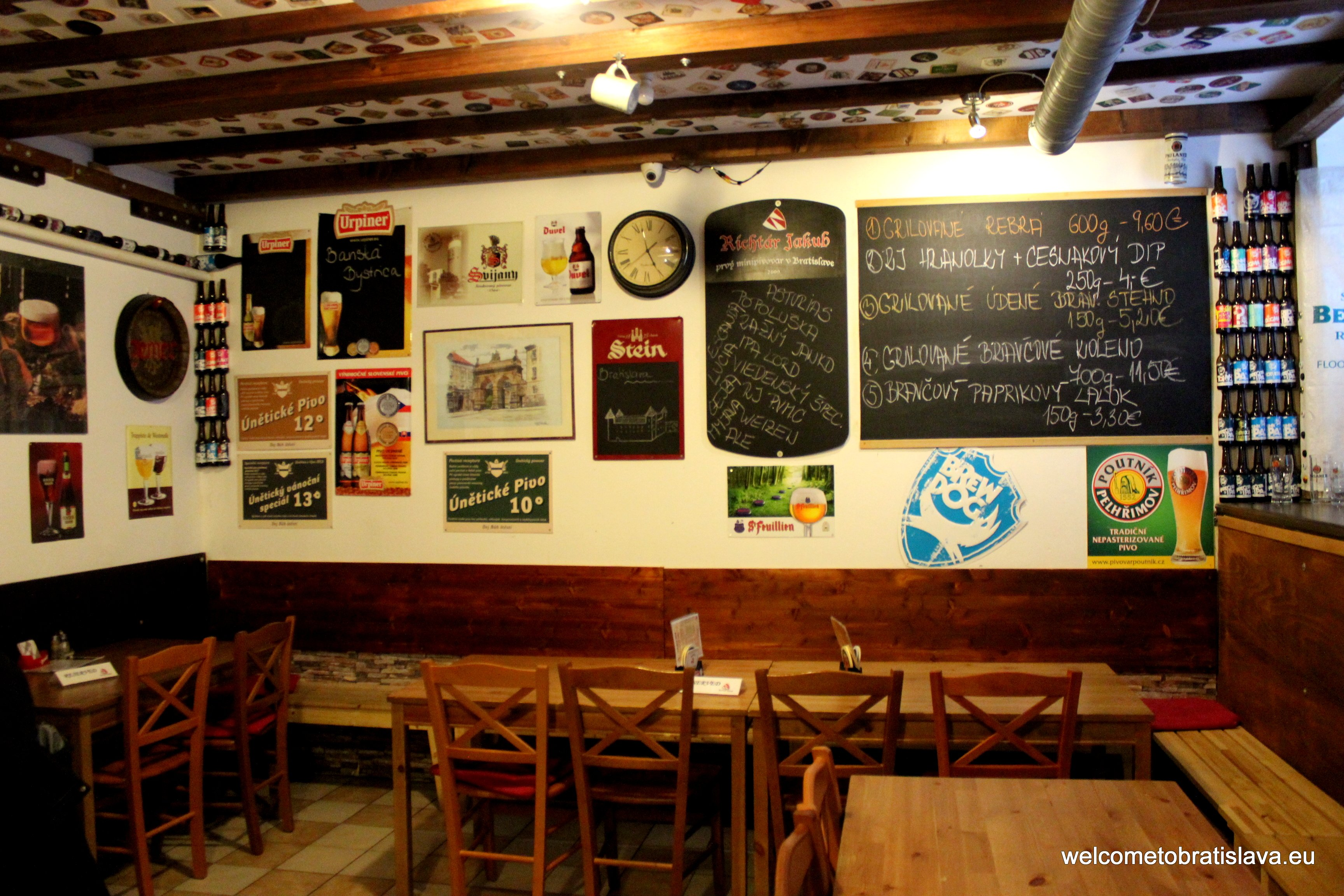 Best beer places in Bratislava - Hostinec Richtar Jakub