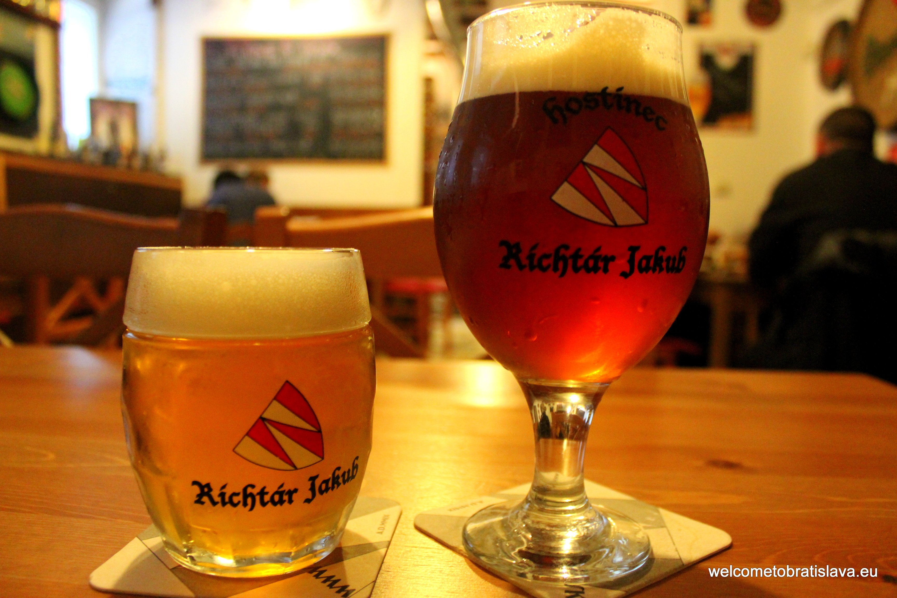 Best beer places in Bratislava - Hostinec Richtar Jakub