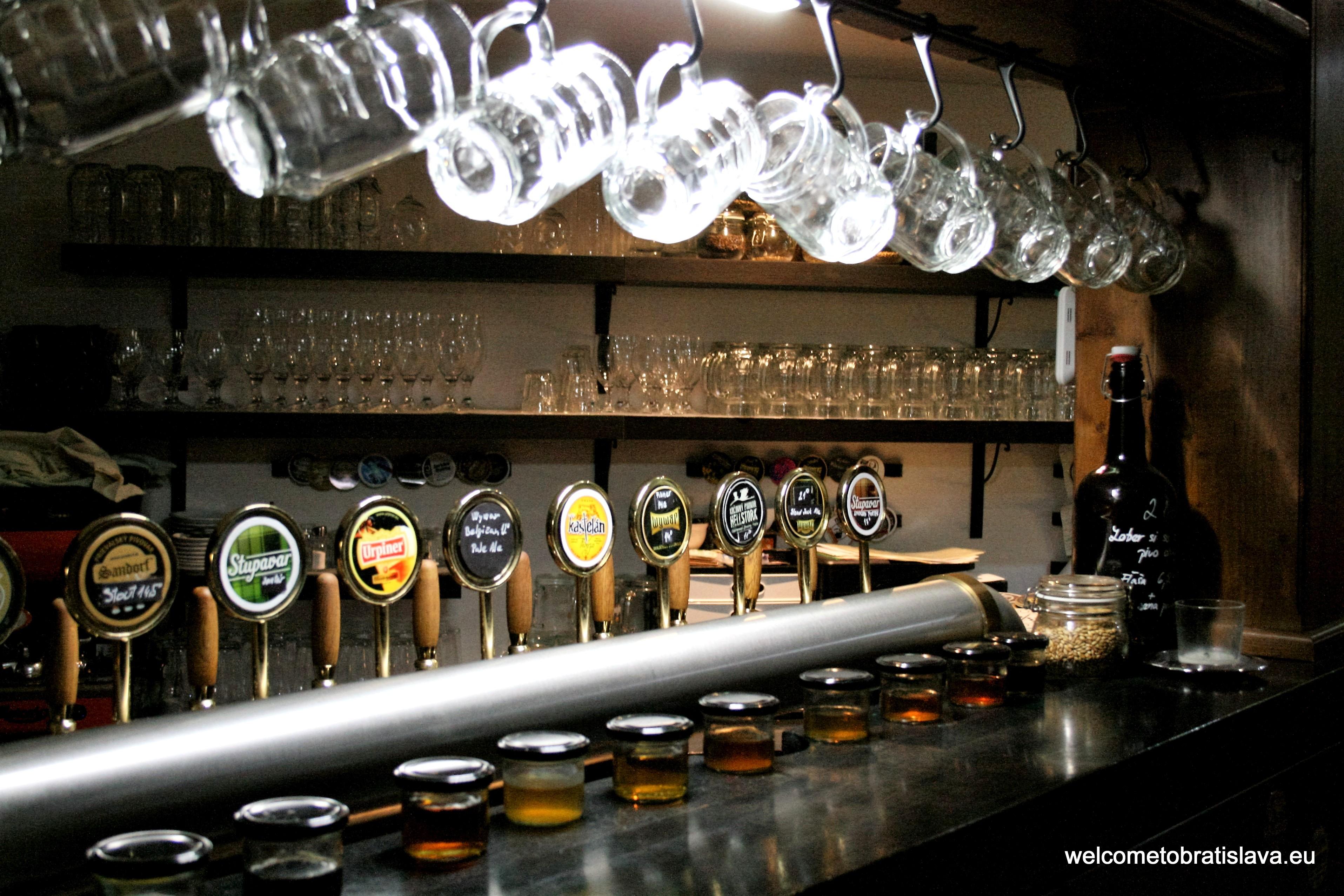 Best beer places in Bratislava - Staromestianska pivoteka