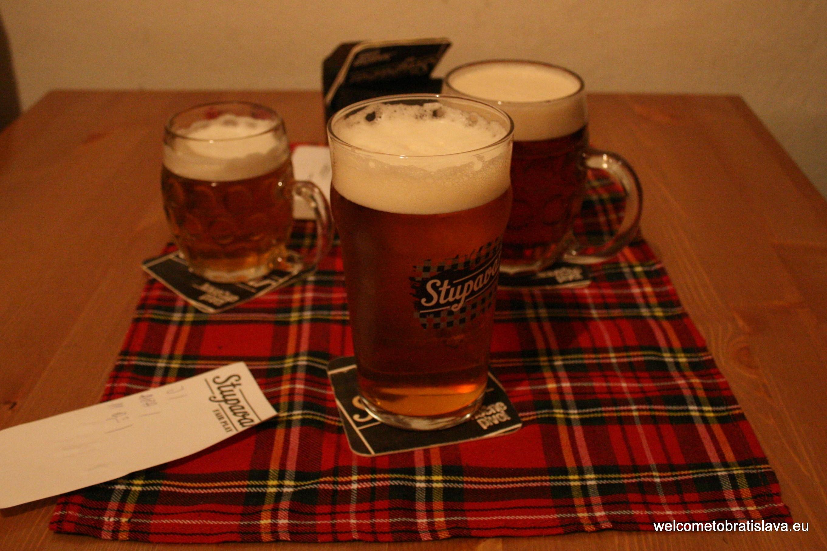 Best beer places in Bratislava - Stupavar