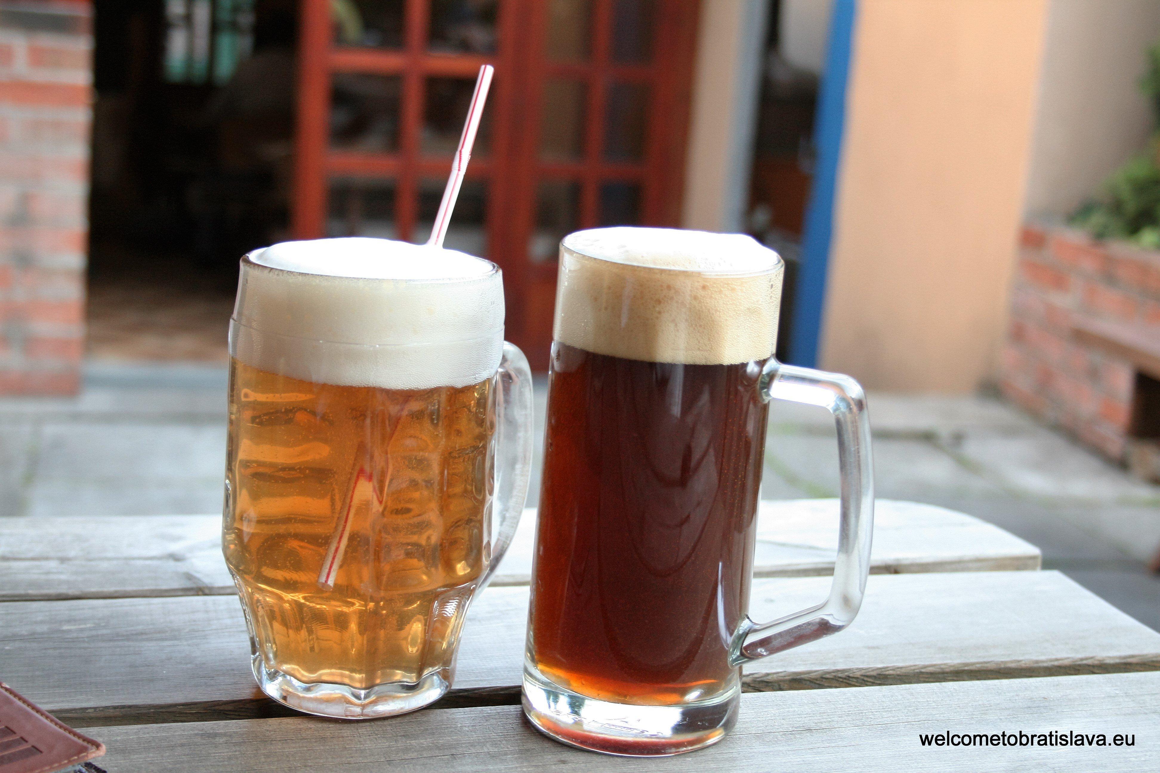Best beer places in Bratislava - Starosloviensky pivovar