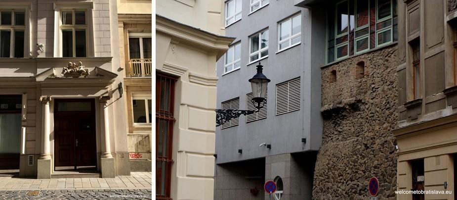 Nedbalova Street - Historical sights