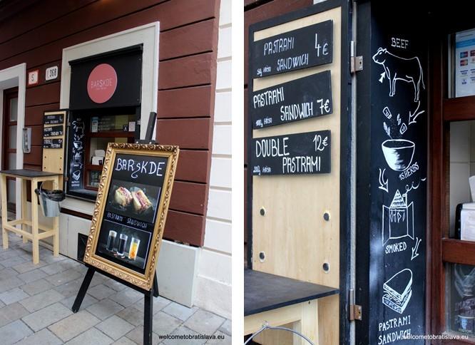 Best Street Food in Bratislava - Barskde