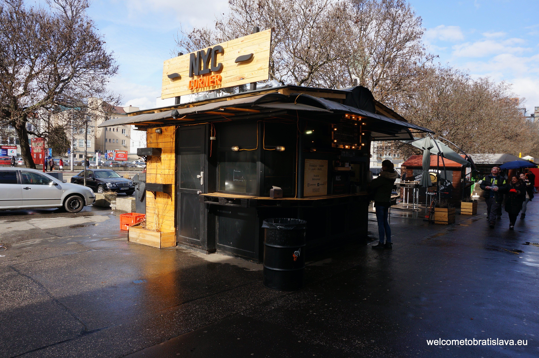 Best street food in Bratislava