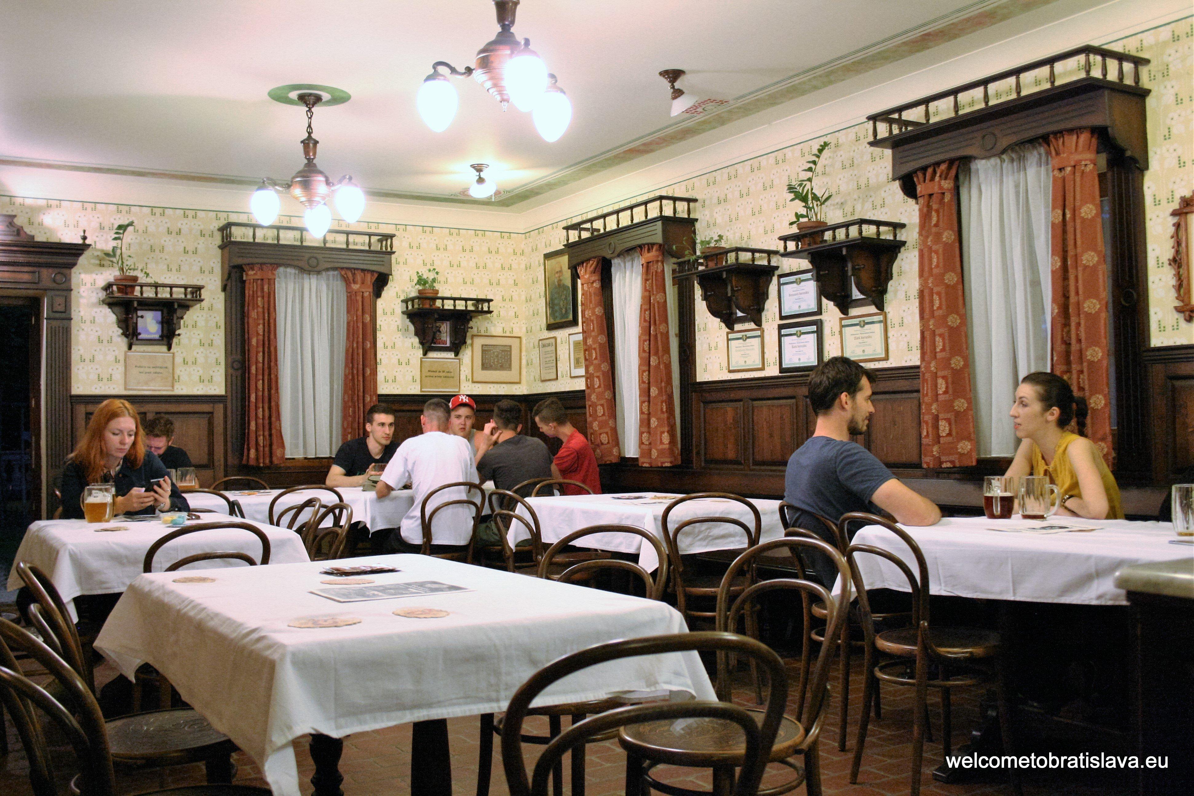 Best beer places in Bratislava - Muzejny pivovar