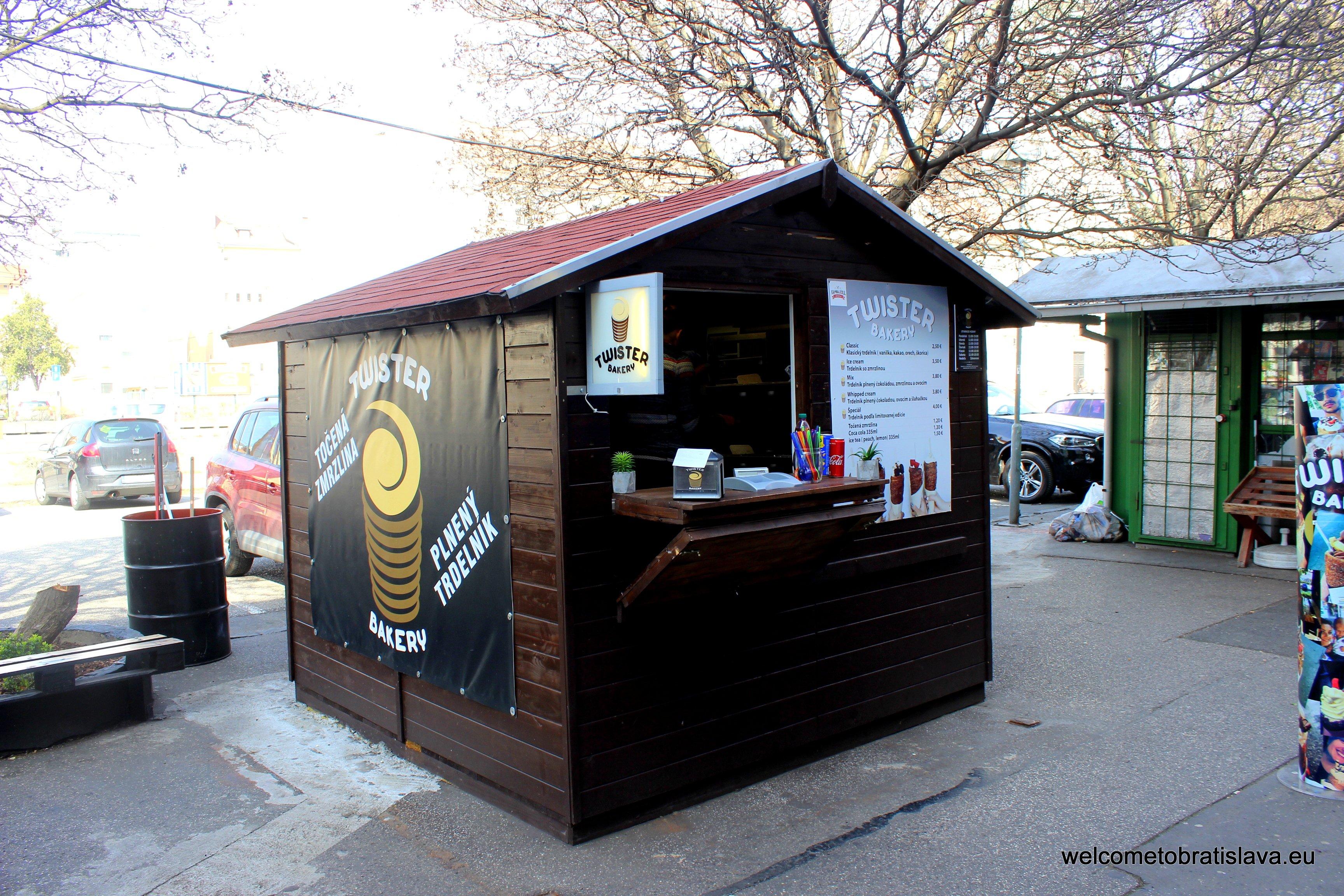 Best Street Food in Bratislava - Twister Bakery
