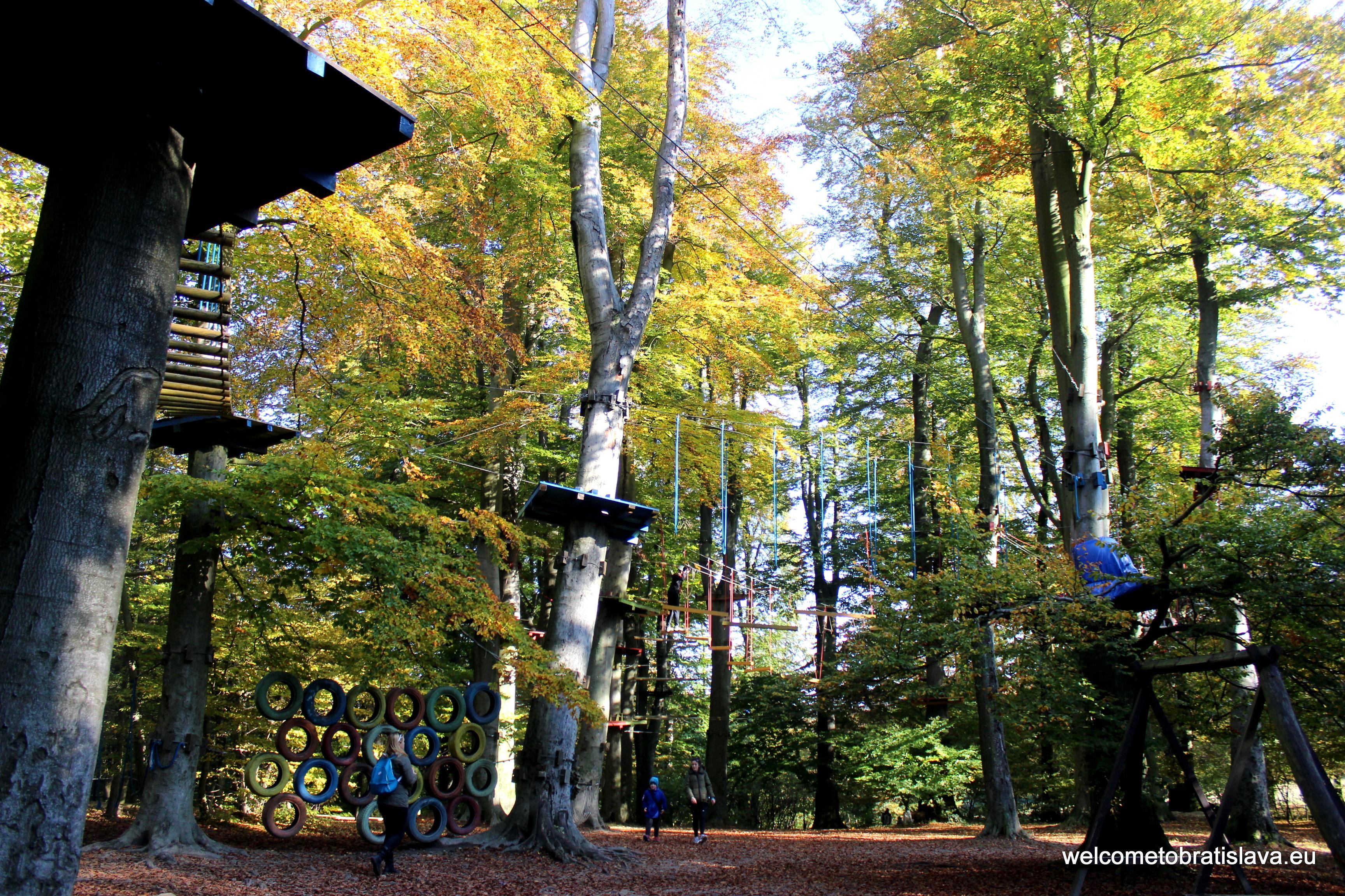 Outdoor places for kids in Bratislava - Lanoland Koliba