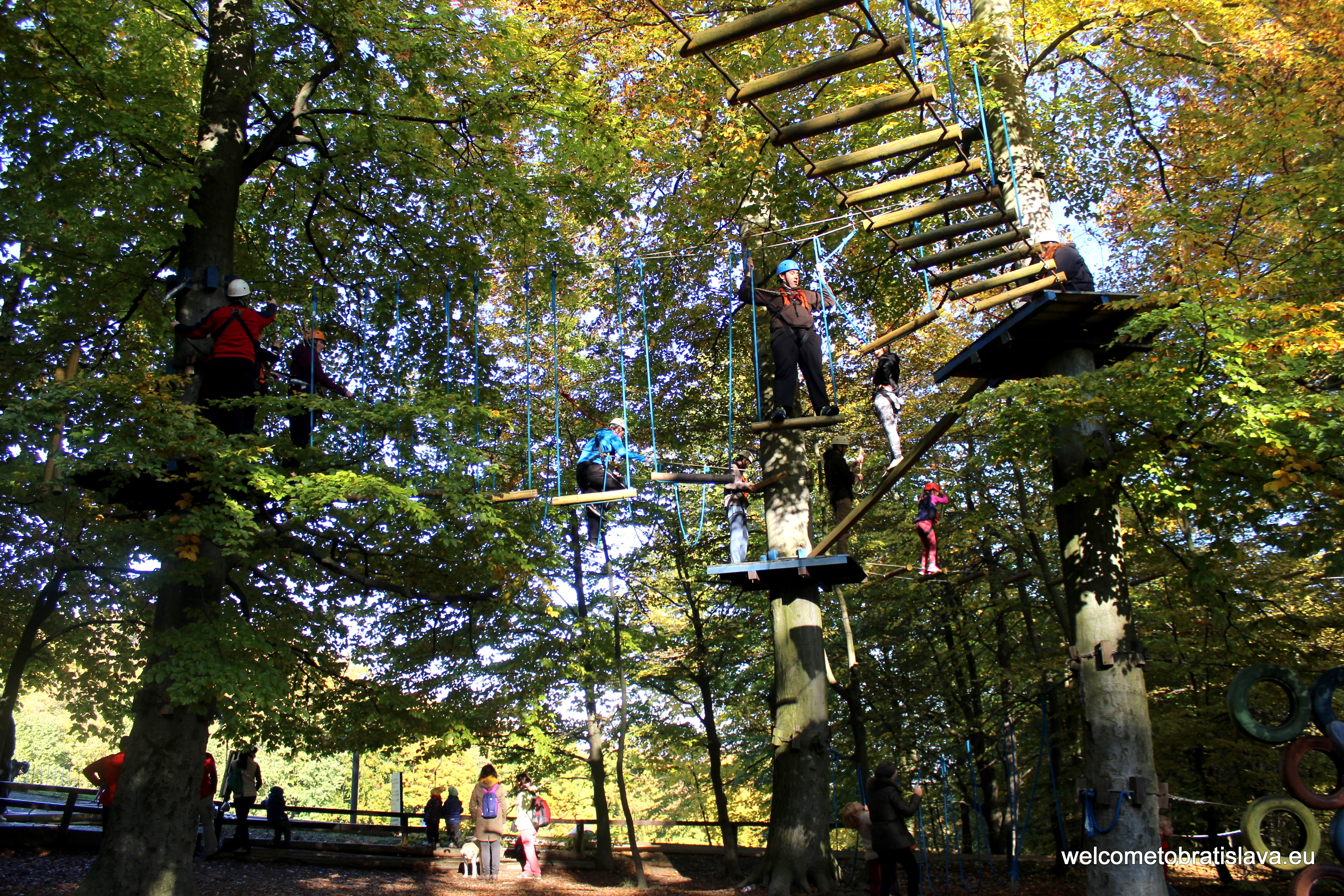Outdoor places for kids in Bratislava - Lanoland Koliba