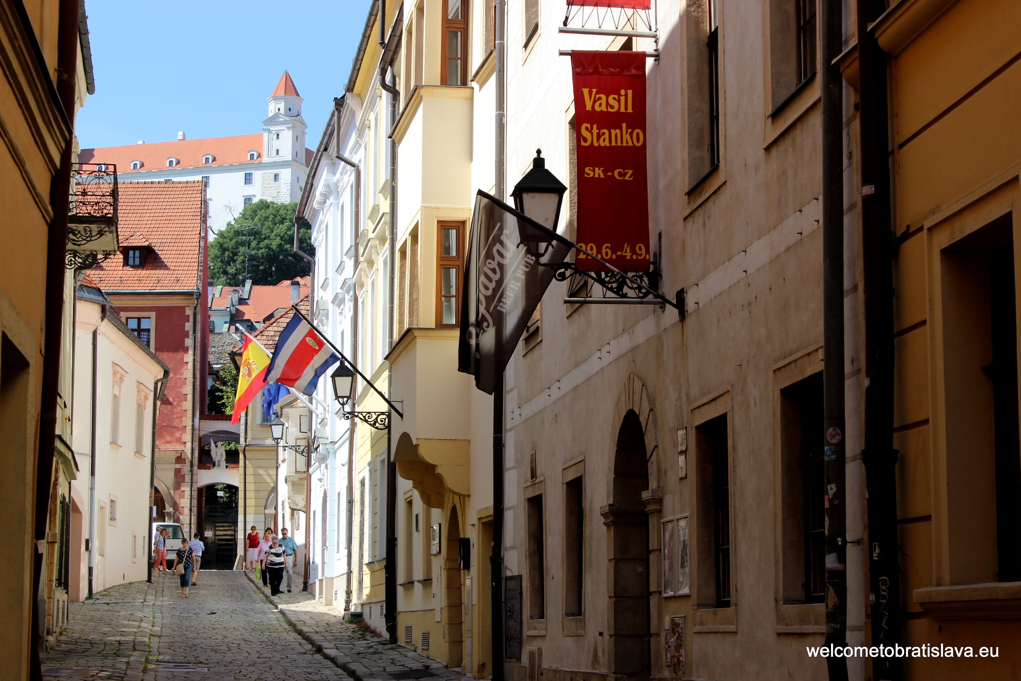 Coronation journey - Prepostska Street