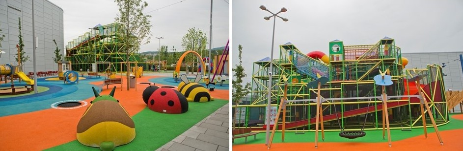 Outdoor places for kids in Bratislava - Buppi