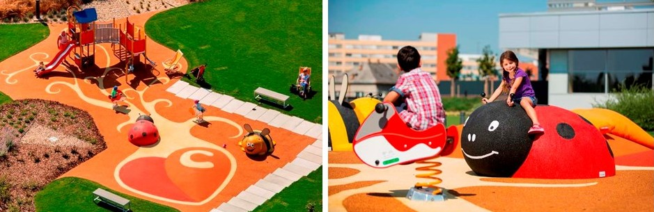 Outdoor places for kids in Bratislava - Central