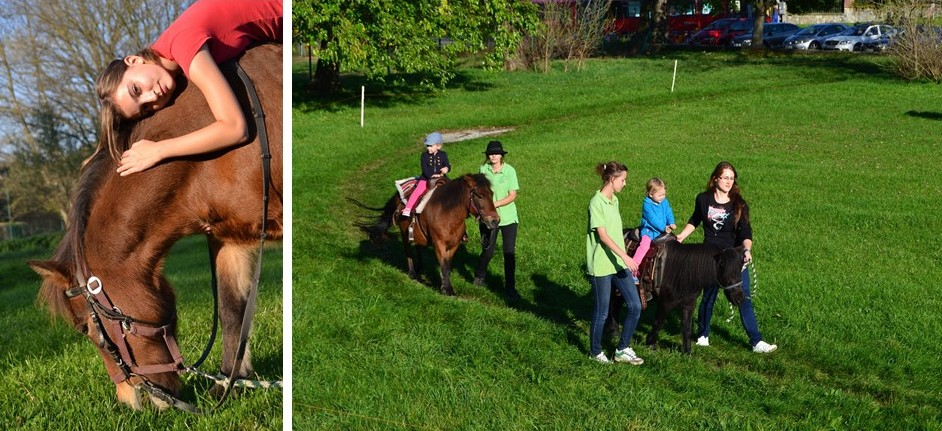 Outdoor places for kids - pony riding Devin