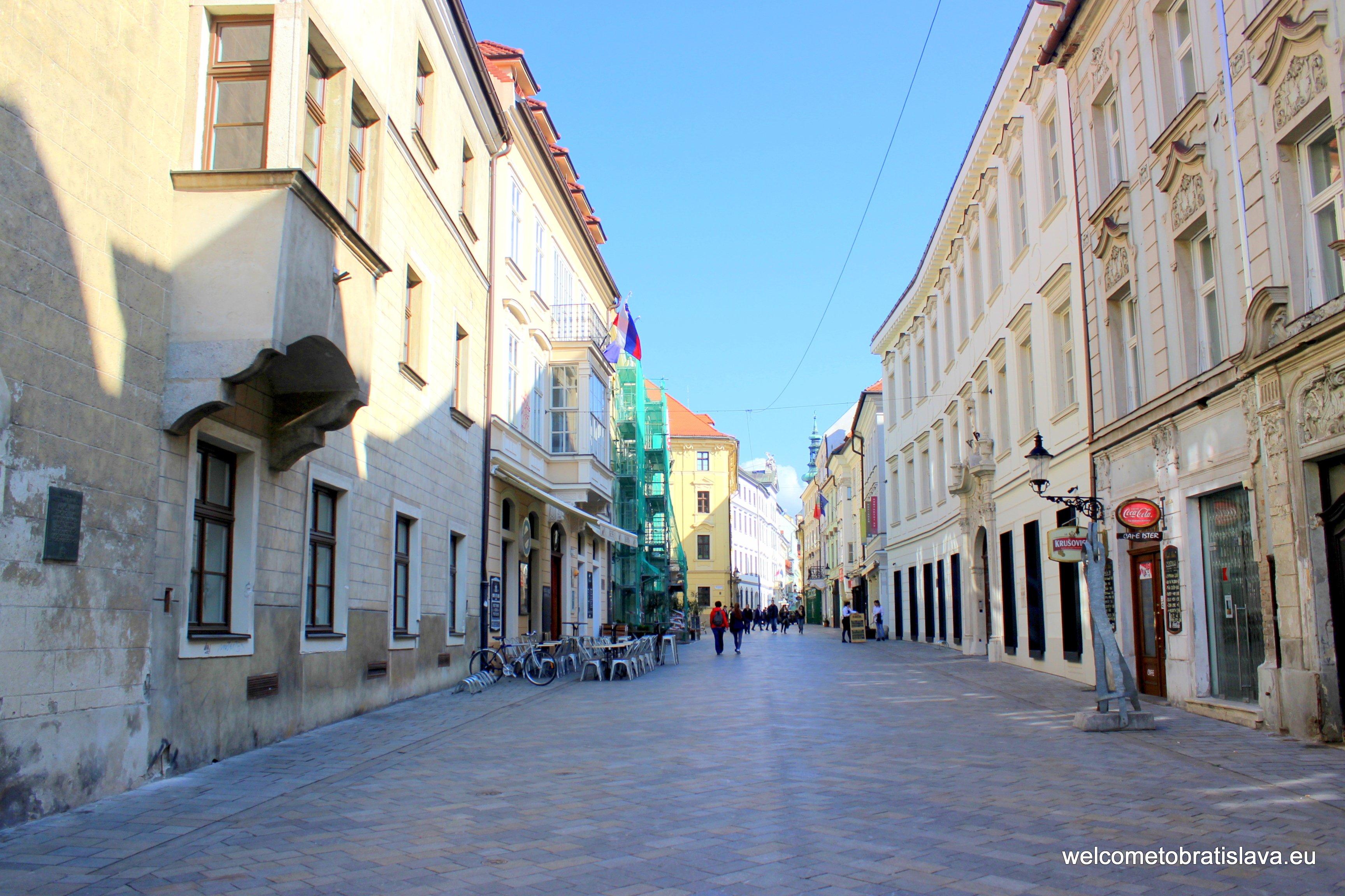 Coronation journey - Venturska Street