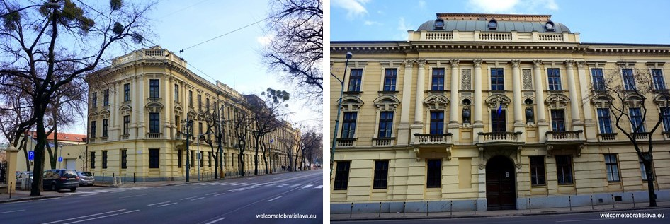Stefanikova Street - Karacsony Palace