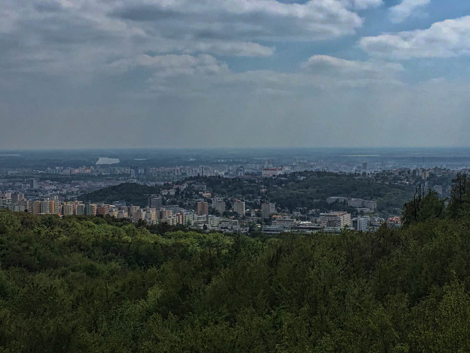off the beaten track places - viewpoint next to Kamzik TV tower