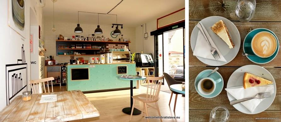 one alternative day in Bratislava - .DOT Espresso Bar