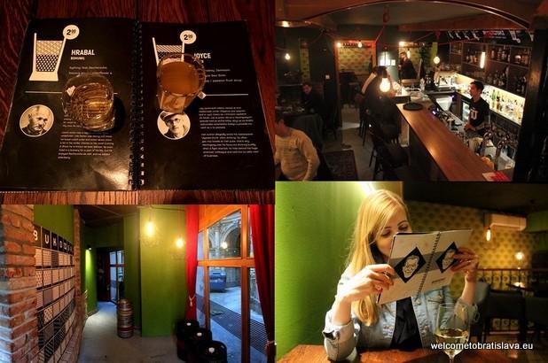 one alternative day in Bratislava - Bukowski Bar