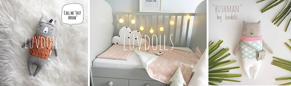 Slovak designer brands for kids - Luvdolls