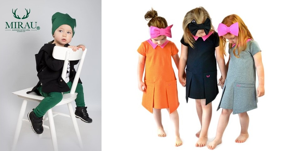 Slovak designer brands for kids - Mirau