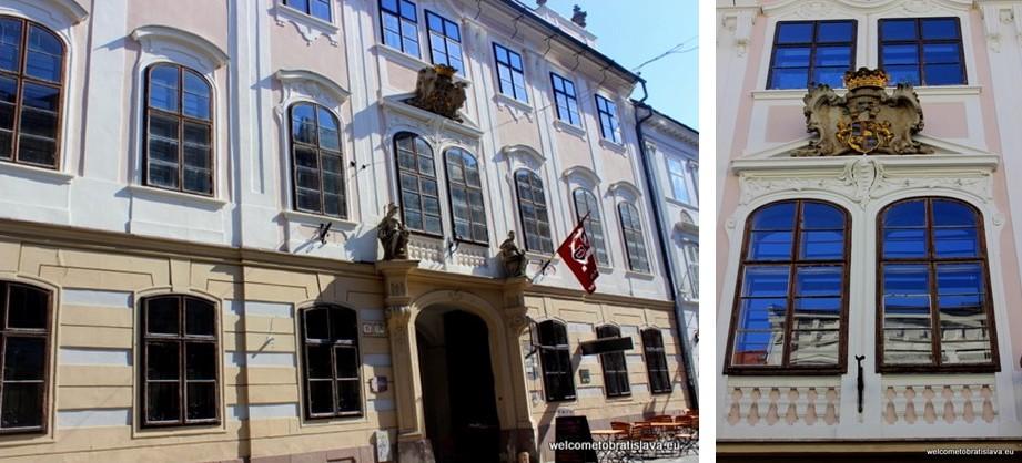 Panska Street - Balass Palace