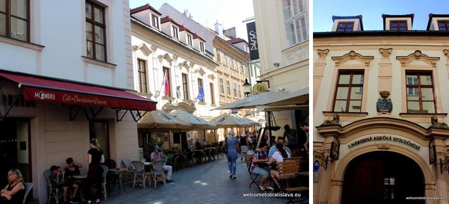 Panska Street - Keglevich Palace