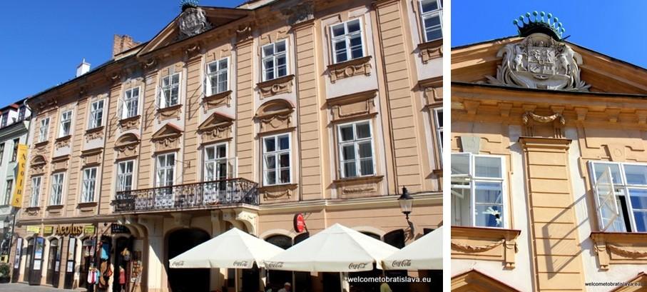 Panska Street - Csaky Palace